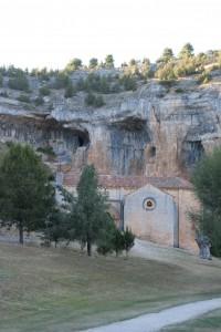 Ermita de San Bartolomé en el cañón del río Lobos. Por Raquel Montejo