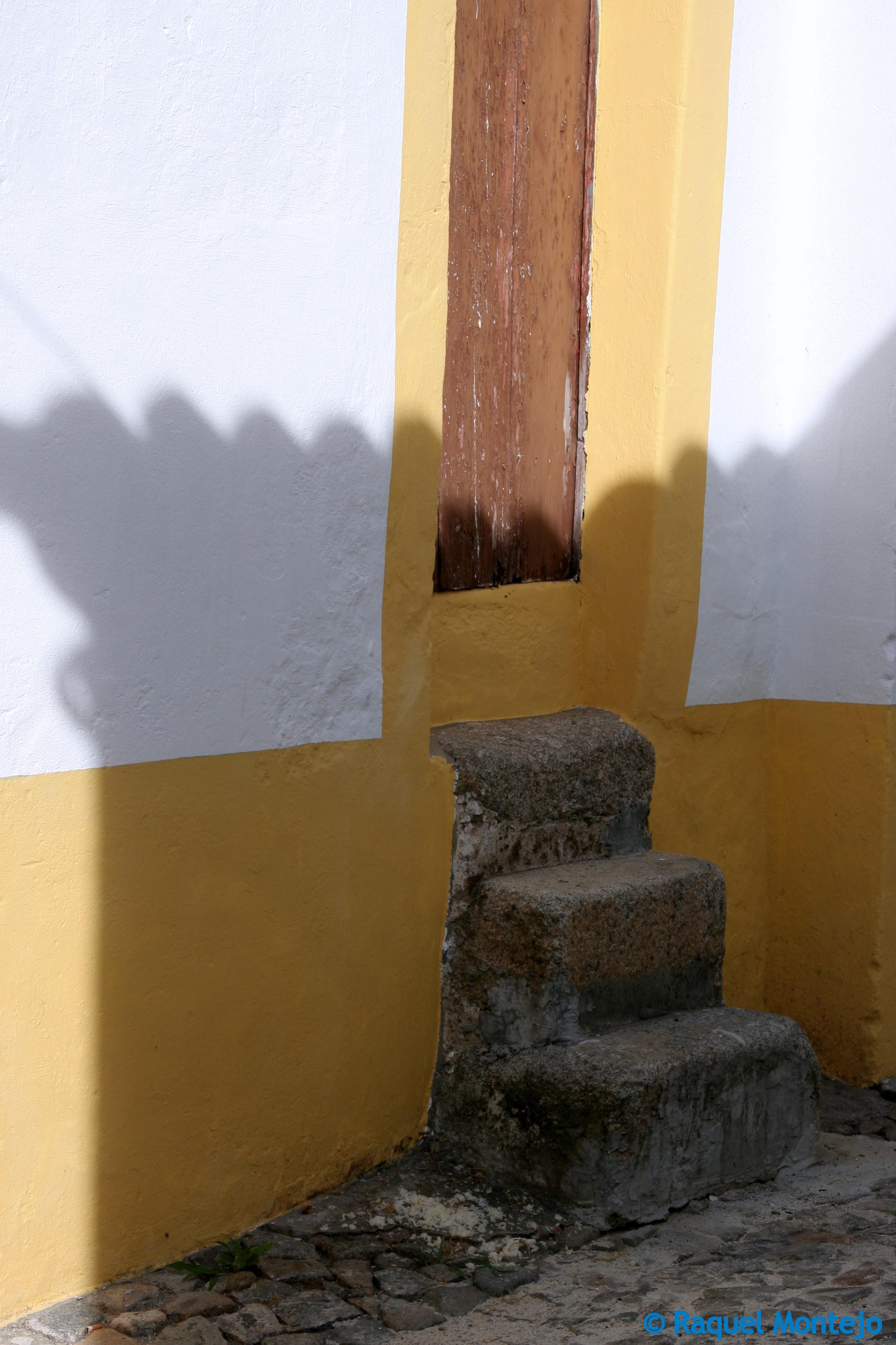 Puerta de casa en Évora