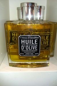 Botella de verdadero oro verde