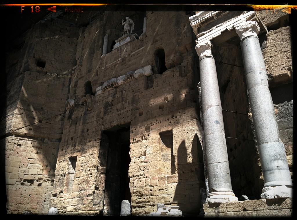 Amphitheater - Orange 2015 - Domingo Senise