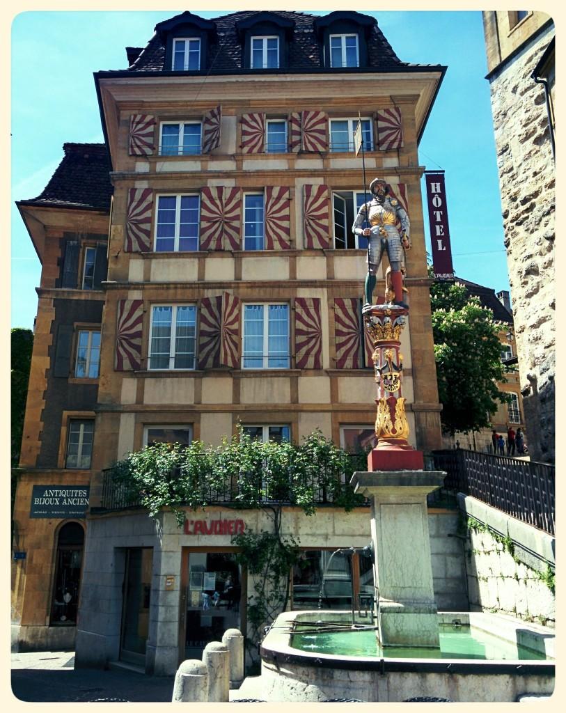 die Schweiz - Neuchâtel 2015 - Domingo Senise