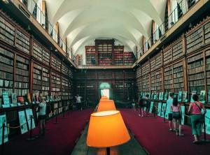 Biblioteca Córcega agosto 2015