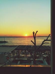 Cae el sol - Naxos julio 2015