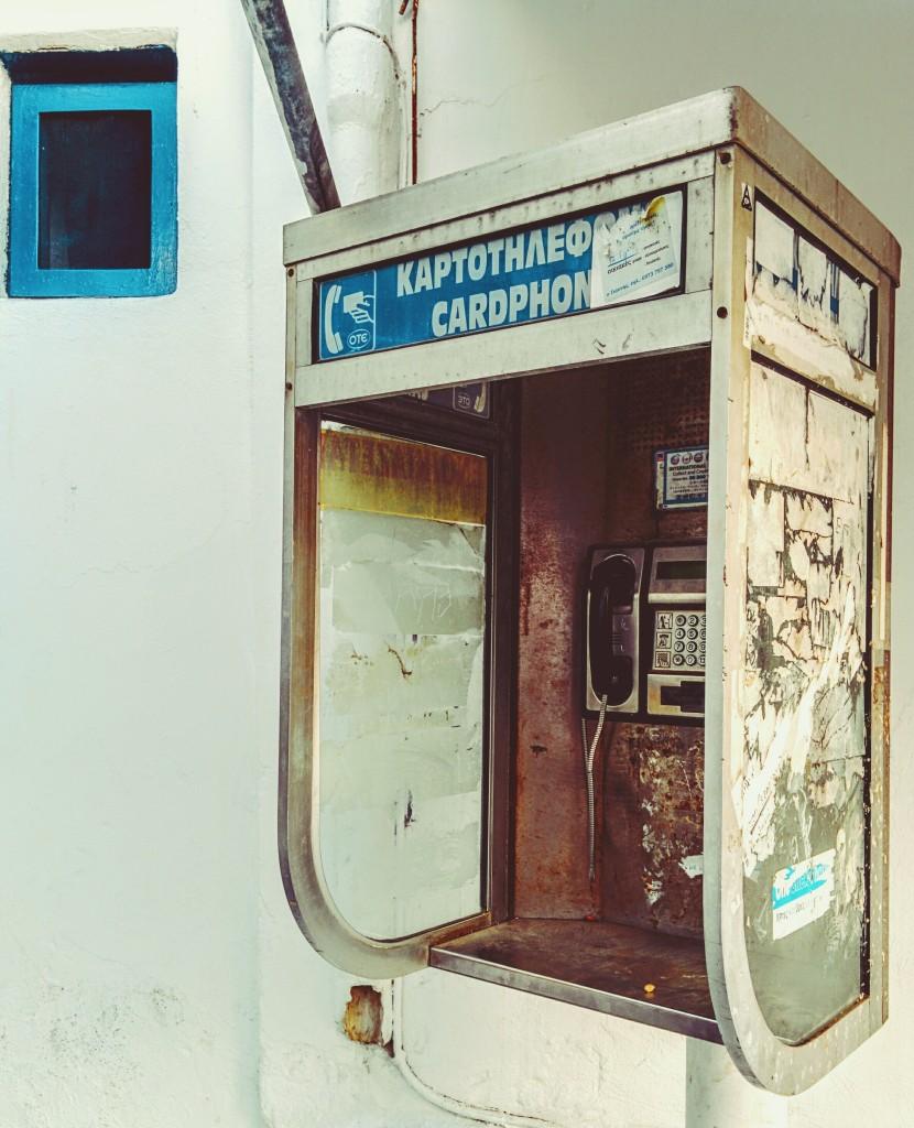 No hay línea - Mykonos julio 2015