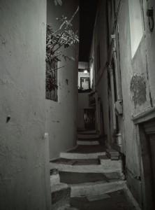 Paseo nocturno - Naxos julio 2015