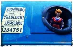 Goku - Rome March 2015